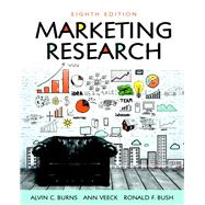 Marketing Research,Burns, Alvin C.; Veeck, Ann;...,9780134167404