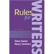 Rules for Writers,Hacker, Diana; Sommers, Nancy,9781319057428