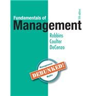 Fundamentals of Management,Robbins, Stephen; Coulter,...,9780134237473