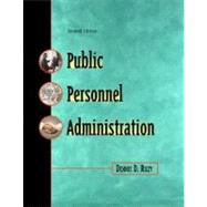 Public Personnel Administration (Revised) by Riley, Dennis D., 9780321087508