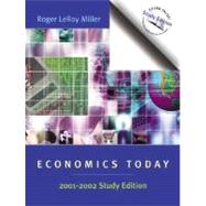 Economics Today : 01-02 Study Edition by Miller, Roger LeRoy, 9780321117526