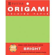 Origami Folding Paper Bright 5x5 inch 48 Sheets by Tuttle Publishing, 9780804837538