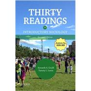 Thirty Readings in...,Gould, Kenneth A.; Lewis,...,9780190277604