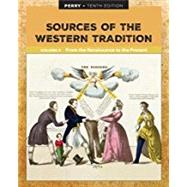 Sources of the Western...,Perry, Marvin,9781337397612