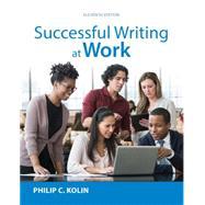 Successful Writing at Work,...,Kolin,9781305667617