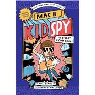 Mac B., Kid Spy Box Set, Books 1-4 (Mac B., Kid Spy) by Barnett, Mac; Barnett, Mac; Lowery, Mike, 9781338777635