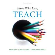 Those Who Can, Teach,Ryan, Kevin; Cooper, James...,9781305077690