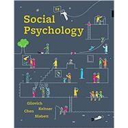 Social Psychology Hardcover +...,Gilovich, Tom; Keltner,...,9780393667691