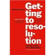 Getting to Resolution,Levine, Stewart,9781576757710
