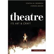 Theatre,Gendrich, Cynthia M.; Archer,...,9781442277748