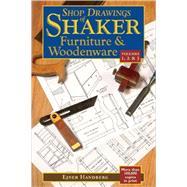 Shop Drawings Shaker Furn...,Handberg,Ejner,9780881507775