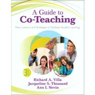 A Guide to Co-Teaching: New...,Villa, Richard A.; Thousand,...,9781452257785