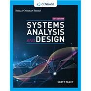 Systems Analysis and Design,Tilley, Scott,9780357117811