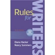 Rules for Writers (Paperback)...,Hacker, Diana; Sommers, Nancy,9781319367817
