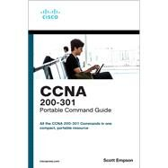 CCNA 200-301 Portable Command...,Empson, Scott,9780135937822