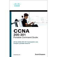 CCNA 200-301 Portable Command...,Empson, Scott,9780135937822