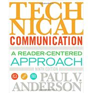Technical Communication,Anderson, Paul V.,9781305667884