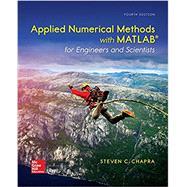 Applied Numerical Methods...,Chapra, Steven,9780073397962