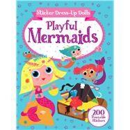 Sticker Dress-up Dolls Playful Mermaids by Over, Arthur; Hinton, Steph, 9780486837963