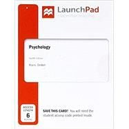 LaunchPad for Psychology...,Myers, David G.; DeWall, C....,9781319067984