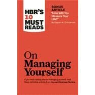 HBR's 10 Must Reads on Managing Yourself by Harvard Business Review, 9781422157992