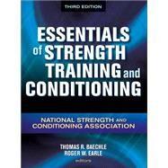 Essentials of Strength...,NSCA -National Strength &,9780736058032