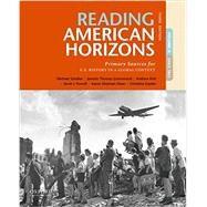 Reading American Horizons...,Schaller, Michael; Thomas...,9780190698041