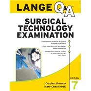 LANGE Q&A Surgical Technology...,Sherman, Carolan;...,9781259588112