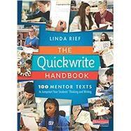 The Quickwrite Handbook by Rief, Linda, 9780325098128
