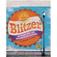 Introductory and Intermediate Algebra for College Students by Blitzer, Robert F., 9780134178141