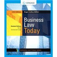 Business Law Today, Standard:...,Miller, Roger LeRoy,9780357038161