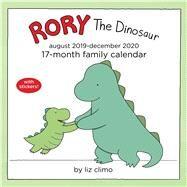 Rory the Dinosaur 17-month Family 2019-2020 Calendar by Climo, Liz, 9781449498184