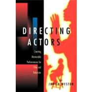 Directing Actors,Weston, Judith,9780941188241