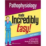 Pathophysiology Made...,Lippincott Williams & Wilkins,9781496398246