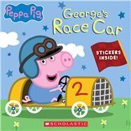 George's Race Car (Peppa Pig) (Media tie-in) by Unknown, 9781338768251