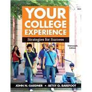 Your College Experience...,Gardner, John N.; Barefoot,...,9781319068301