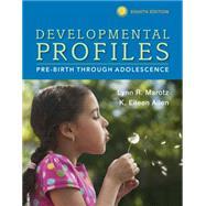 Developmental Profiles...,Marotz, Lynn R; Allen, K....,9781305088313