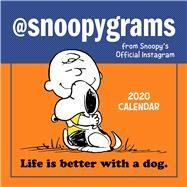 @Snoopygrams 2020 Calendar by Peanuts Worldwide Llc, 9781449498337