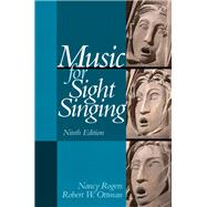 Music for Sight Singing,Rogers, Nancy; Ottman, Robert...,9780205938339