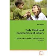 Early Childhood Communities...,Hedges, Helen,9783639068344