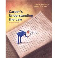 Carper's Understanding the Law,McKinsey, John A.; Burke,...,9781285428420