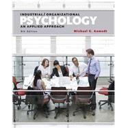 Industrial/Organizational...,Aamodt, Michael G.,9781305118423