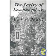 The Poetry of New Hampshire,Balint, Frank A.,9781930648425