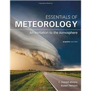 Essentials of Meteorology An...,Ahrens, C. Donald; Henson,...,9781305628458