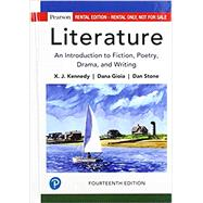 Literature An Introduction to...,Kennedy, Joe (X. J.); Gioia,...,9780134668468
