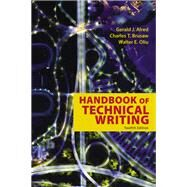 The Handbook of Technical...,Alred, Gerald J.; Oliu,...,9781319058524