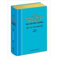 The Happiness Project One-sentence Journal by Rubin, Gretchen, 9780307888570