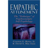 Empathic Attunement The...,Rowe, Crayton, Jr.; MAC...,9780876688571