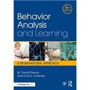 Behavior Analysis and...,Pierce; W. David,9781138898585