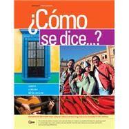 ¿Como se dice...?, Enhanced,Jarvis, Ana; Lebredo, Raquel;...,9781285738628